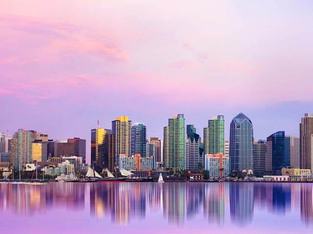 Book cheap San Diego flights with eDreams
